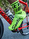 SANTIC Vuxna Överdrag för cykelskor Vattentät Anti-halk Multisport Cykling / Cykel Grön Svart Rubinrött Unisex Cykelskor