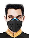 CoolChange Sport Mask Skyddsmask mot Förorening Ensfärgat Vattentät Vindtät Andningsfunktion Damm säker Cykel / Cykelsport Svart för Herr Dam Vuxna Utomhusträning Jogging Cykel Ensfärgat