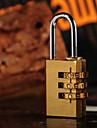 1 st Kodlås Tillbehör till resväska för Tillbehör till resväska Metall - Brun