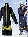 Inspirerad av One Piece Trafalgar Law Animé Cosplay-kostymer Japanska cosplay Suits Tryck Kappa / Hatt Till Herr