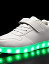 Pojkar / Flickor Lysande skor / Jul PU Sneakers Lilla barn (4-7år) / Stora barn (7 år +) LED Svart / Vit / Röd Höst / Fest / afton
