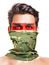 Balaclava Camo / Camouflage Windproof Breathable Fast Dry Dust Proof Bike / Cycling Khaki fluorescent green Dark Green for Men\'s Adults\' Ski / Snowboard Outdoor Exercise Motobike / Motorcycle Solid
