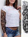 1 pcs tillfälliga tatueringar Miljövänlig / Engångsvara Kropp / brachium / Ben Kortpapper Tatueringsklistermärken
