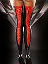 Dámské Ponožky Jednobarevné Punčochy Tenké 30D Fialová / Super Sexy