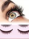 Ögonfrans 1 pcs Ultra Lätt (UL) Ledigt / vardag Djurull Ögonfrans Dagliga kläder Naturligt långa - Smink Vardagsmakeup Hög kvalitet Kosmetisk Skötselprodukter
