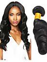 3 paket Löst vågigt Äkta hår Obehandlat Mänsligt hår Huvudbonad Human Hår vävar Hårvård 8-28 tum Naurlig färg Hårförlängning av äkta hår Bästa kvalitet Heta Försäljning Häftig Människohår / 8A