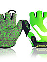 BOODUN Bike Gloves / Cycling Gloves Mountain Bike MTB Breathable Anti-Slip Sweat-wicking Protective Fingerless Gloves Half Finger Sports Gloves Lycra Green for Adults\' Fitness Gym Workout