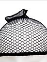 Keps Polyester / Bomull Blandning Perukmössor Dekorationer Hög transparens 1pcs Dagligen / Festival Enkel Svart Rödlätt / Blekt Blont