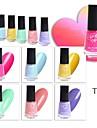 Nagellack UV-gel 6 pcs Stilig / Glamour Långvarig soak-off Bröllopsfest / Dagliga kläder / Datum Stilig / Glamour Bright Tone / Färgglad