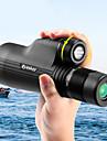 Eyeskey 10-30 X 50 mm Monokulär Tak Utomhus Vattentålig Enkel att bära Full multibeläggning BAK4 Jakt Camping Utomhusträning Spectralite Överdrag Aluminiumlegering / Fågelskådning