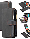 ケース 用途 Apple iPhone XS / iPhone XR / iPhone XS Max ウォレット / カードホルダー / スタンド付き フルボディーケース ソリッド ハード PUレザー
