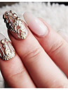 10 pcs Bästa kvalitet / Slitsäker Miljövänligt material Nagelsmycken Till Fingernageö Kreativ Vintage Theme nagel konst manikyr Pedikyr Speciellt Tillfälle / Fest / afton / Maskerad Trendig