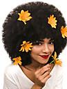 Äkta hår Hel-spets Peruk Deep Parting Rihanna stil Mongoliskt hår Afro Kinky Naturlig Peruk 130% Hårtäthet Gåva Heta Försäljning Bekväm Dam Lång Äkta peruker med hätta Dolago
