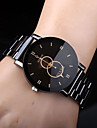 Men\'s Dress Watch Analog Quartz Casual Casual Watch / Stainless Steel / Stainless Steel