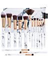 Professionell Makeupborstar 15st Ny Design Plast för Sminkborste