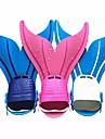 Dykning Fenor Simfenor Sjöjungfru Quick Release Justerbar passform Simmning Dykning Snorkelfenor Silikon TPR - för Barn Grön Blå Rosa