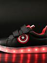 Pojkar / Flickor Lysande skor PU Sneakers Småbarn (9m-4ys) / Lilla barn (4-7år) / Stora barn (7 år +) Promenad LED Vit / Svart Vår / Höst / Gummi