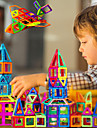 Magnetiskt block Magnetiska plattor Magnetleksaker 30-199 pcs kompatibel Legoing Magnet Pojkar Flickor spädbarn Leksaker Present / Byggklossar