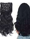 Laflare Förlängare Syntetiska utsträckningar Vågigt Syntetiskt hår Medium längd HÅRFÖRLÄNGNING Klämma in Klämma In / På 1 st. syntetisk Förlängning Bästa kvalitet Dam Jul Bröllop Halloween