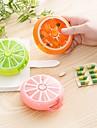 7 Slots Vitamin Medicine Kit 7 Day Storage Box Portable Pill Case Weekly Rotating Drug Medication Pills Health Care Device