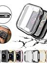 Case For Apple Apple Watch Series 4 / Apple Watch Series 4/3/2/1 / Apple Watch Series 3 PU(Polyurethane) Apple
