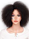 Syntetiska peruker Afro Kroppsvågor Minaj Bob-frisyr Peruk Korta Mörkbrun Syntetiskt hår 12INCH Dam Luktfri Justerbar Värmetåligt Silver Brun