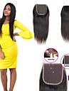 1 Bundle Brasilianskt hår Rak Remy-hår Human Hår vävar bunt hår Hårförlängningar av äkta hår 8-20inch Naurlig färg Hårförlängning av äkta hår Nyfödd Vattenfall Söt Människohår förlängningar