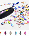 10 pcs Bästa kvalitet Bergkristall Paljetter Till Fingernageö Mode Kreativ nagel konst manikyr Pedikyr Dagligen Stilig / Mode