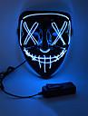 LED Halloween-mask Inspirerad av Rena Vit Orange LED Lysa upp Halloween Vuxna Herr Dam / Mask / Mask