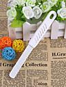 1set Rostfritt stål Nail Art Tool Till Fingernageö Slitsäker / Hållbar / Lätt och bekvämt White Series nagel konst manikyr Pedikyr Enkel Dagligen