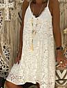 Women\'s Strap Dress Knee Length Dress White Black Red Blushing Pink Sleeveless Hot vacation dresses S M L XL XXL 3XL 4XL 5XL