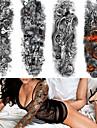4 pcs tillfälliga tatueringar Miljövänlig / Engångsvara Kropp / brachium / tillbaka Kortpapper