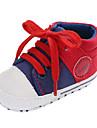 Pojkar / Flickor Komfort / Första gåsko Kanvas Sneakers Småbarn (9m-4ys) Grå / Röd / Blå Höst