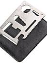 1 st Verktyg och tillbehör Bärbar / Multifunktion för Bärbar / Multifunktion Rostfritt stål - Silver