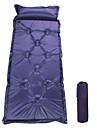 Liggunderlag Självbländande sovplatta Luftdyna Utomhus Camping Uppblåst Polyester Taffeta för Camping Resa Utomhus