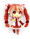 Anime Actionfigurer Inspirerad av Vocaloid Hatsune Miku pvc 10 cm CM Modell Leksaker Dockleksak