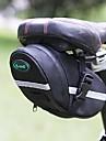 B-SOUL 2L Sadelväska Multifunktionell Reflekterande Bärbar Cykelväska 600D Ripstop Cykelväska Pyöräilylaukku Cykling / Cykel / Reflexremsa