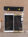 Skyddspåse Mobilväska Mobiltelefon väska för Regnsäker Vattentät dragkedja 1 tum pvc 15 m