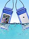 Skyddspåse Mobilväska Mobiltelefon väska för Regnsäker Vattentät dragkedja 6 tum pvc 15 m