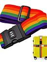 Luggage Strap Belt Packing Adjustable Travel Suitcase Nylon Password Lock Buckle Strap Baggage Belts