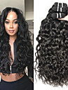 3 paket Brasilianskt hår Vågigt Vattenvågor Obehandlad hår 100% Remy Hair Weave Bundles Huvudbonad Human Hår vävar bunt hår 8-28 tum Naurlig färg Hårförlängning av äkta hår Luktfri Bästa kvalitet