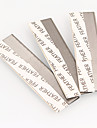 Lätt att bära / Ultra Lätt (UL) / Ung Smink 1 pcs Rostfritt stål Omvård / Dagligen / Kosmetisk Enkel / Bärbar Skola / Dagliga kläder / Datum Vardagsmakeup Normal Ledigt / vardag Säkerhet Kosmetisk