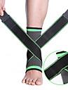 Vriststöd för Löpning Camping Basket Ultra Slim Stretch Andningsfunktion 70% Acrylic / 30% Bomull superfin fiber 1 st Utomhussport Sport Grön