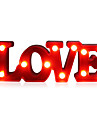 Romantic Small White LOVE Marquee Sign Night Lights Staycation For Home Wedding Decoration Valentine Gift