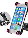 ROCKBROS Mobilfäste till cykel Anti-halk Anti-Skakning 360-graders flygning för Racercykel Mountain Bike BMX PVC iPhone X iPhone XS iPhone XR Cykelsport Svart Rosa 1 pcs