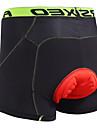 Arsuxeo Herr Vadderade cykelbyxor Cykel Herr Boxer Vadderade shorts 3D Tablett Fuktabsorberande Anatomisk design sporter Polyester Lycra Grön / Blå / Grå Bergscykling Vägcykling Kläder Slapp form