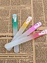 1set Glas Nail Art Tool Till Fingernageö Slitsäker / Hållbar / Lätt och bekvämt White Series nagel konst manikyr Pedikyr Enkel Dagligen