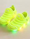 Pojkar Lysande skor Elastisk tyg Sneakers Småbarn (9m-4ys) / Lilla barn (4-7år) Löpning / Promenad Grön / Blå / Rosa Sommar / Gummi