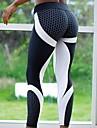 Women\'s Basic Legging - Print, Print High Waist Black Gray S M L / Slim