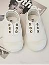 Flickor Komfort Kanvas Loafers & Slip-Ons Småbarn (9m-4ys) / Lilla barn (4-7år) Vit / Svart Sommar